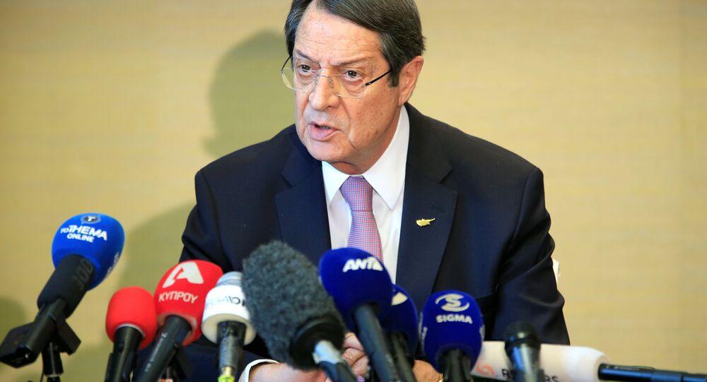 Kıbrıs Cumhurbaşkanı Nikos Anastasiadis
