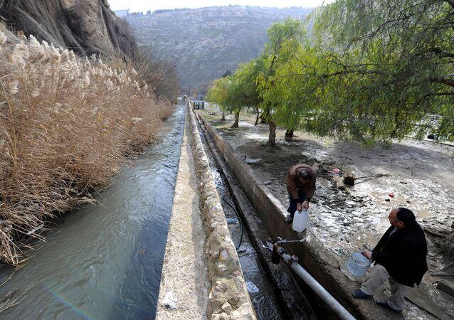 Şam'da su sıkıntısı