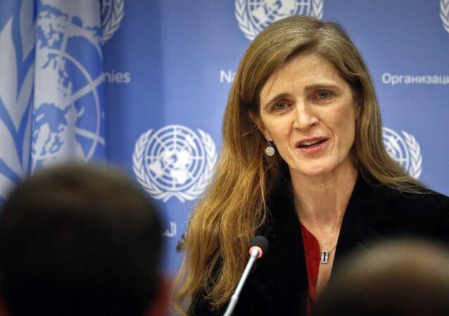 ABD'nin BM Daimi Temsilcisi Samantha Power