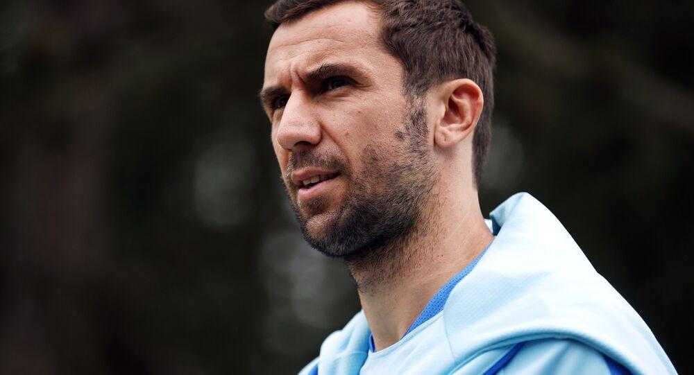 Shakhtar Donetsk'in kaptanı Hırvat yıldız Darijo Srna