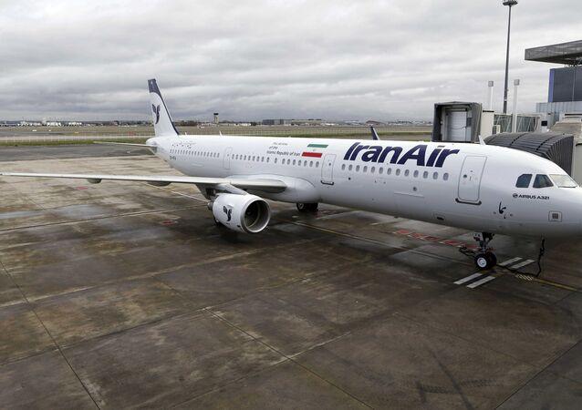 İran'ın yeni uçağı