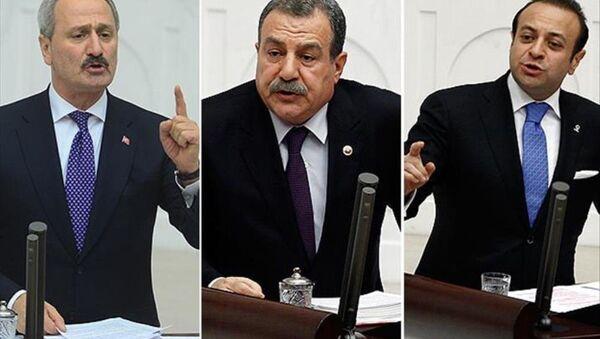 Zafer Çağlayan, Muammer Güler ve Egemen Bağış - Sputnik Türkiye