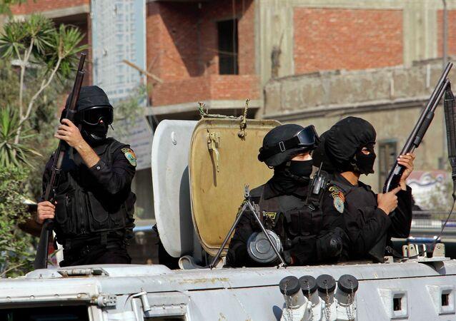 Mısır güvenlik güçleri (Arşiv)