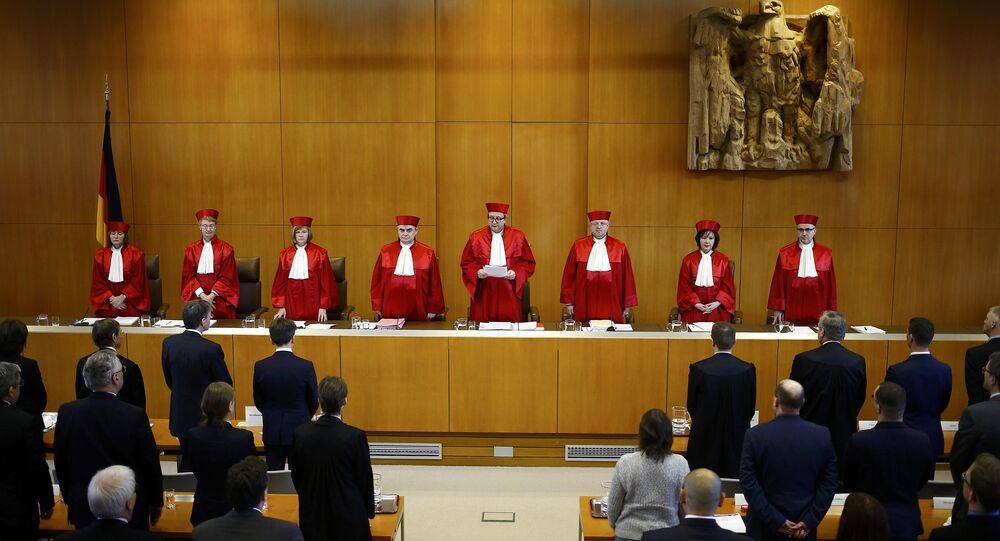 Almanya Anayasa Mahkemesi NPD kararı