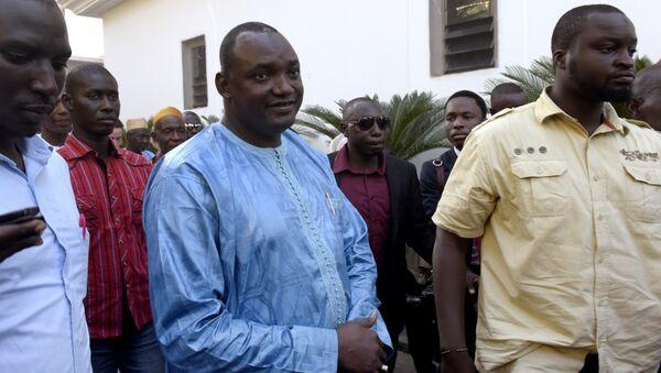 Gambiya'nın seçilen Devlet Başkanı Adama Barrow - Sputnik Türkiye