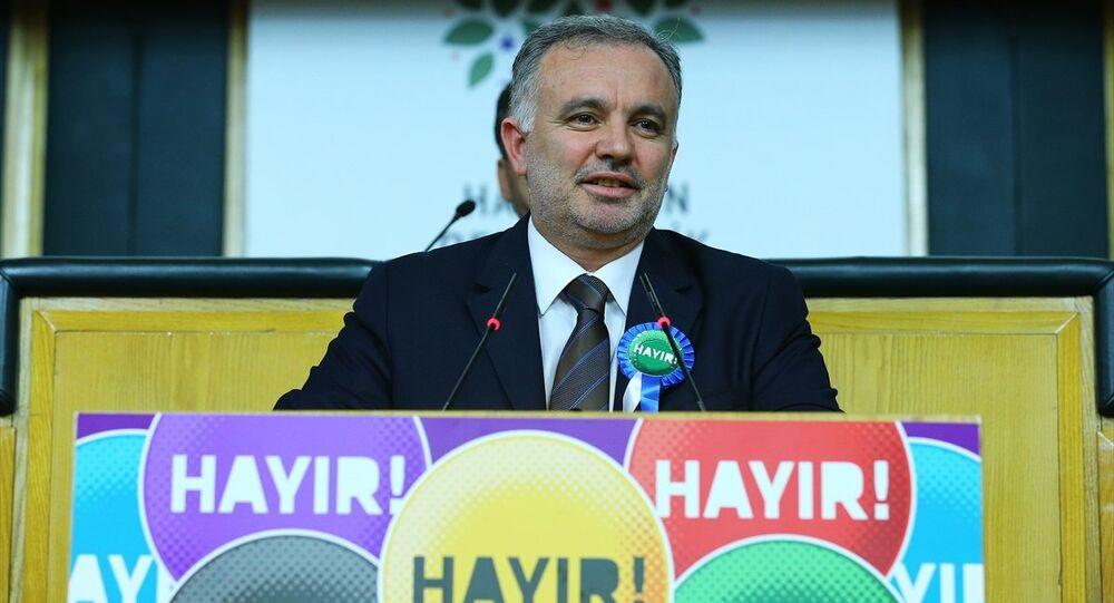 HDP Sözcüsü Ayhan Bilgen,
