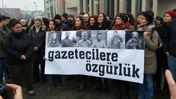 gazeteciler - Sputnik Türkiye
