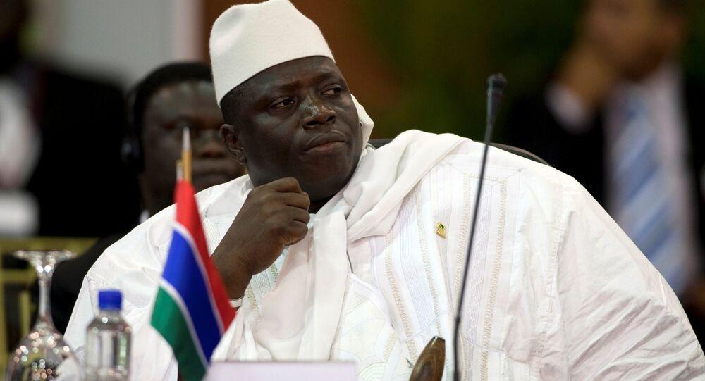 Gambiya Devlet Başkanı Yahya Jammeh