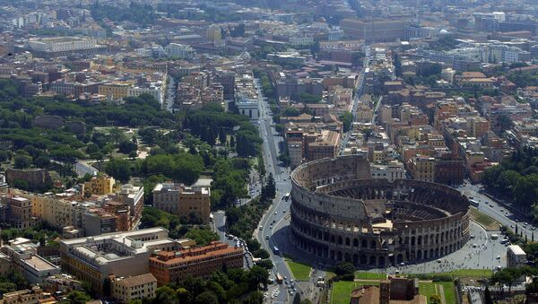 İtalya / Roma / Colosseum - Sputnik Türkiye