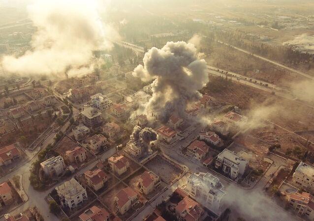 Rus foto muhabirlerinin gözünden Suriye savaşı