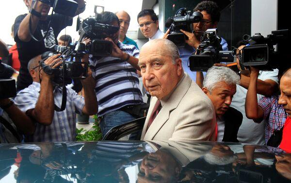 Peru eski Cumhurbaşkanı Francisco Morales Bermudez - Sputnik Türkiye