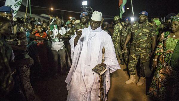 Eski Gambiya Devlet Başkanı Yahya Jammeh - Sputnik Türkiye