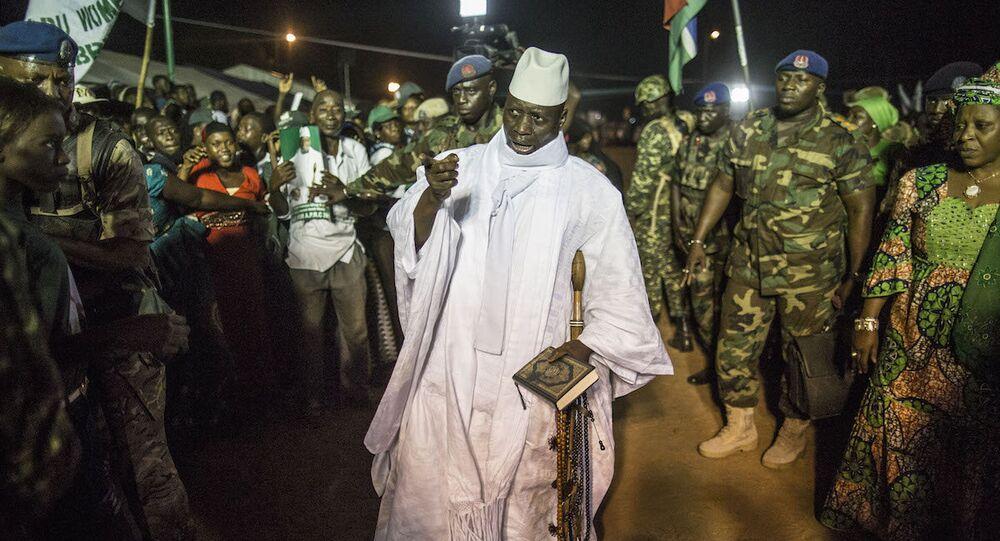 Eski Gambiya Devlet Başkanı Yahya Jammeh