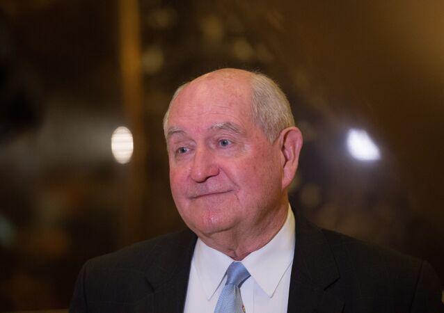 ABD Başkanı seçilen Donald Trump'ın Tarım Bakanı adayı Sonny Perdue