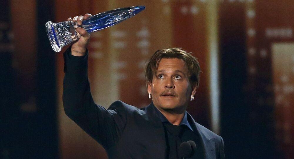 Johhny Depp, People's Choice ödül töreni