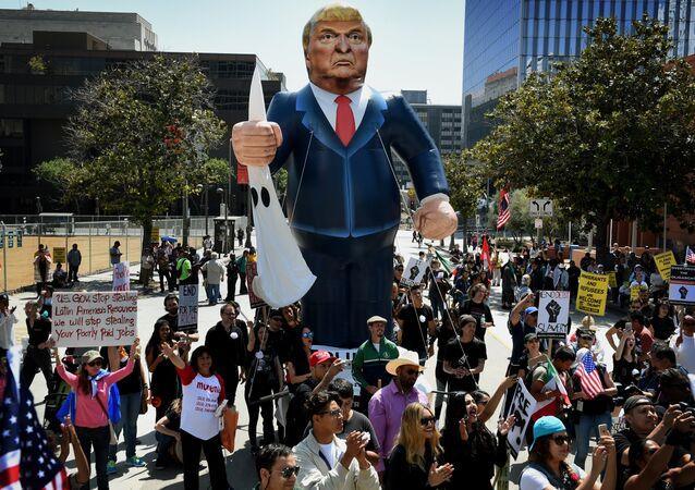 Donald Trump - Protesto
