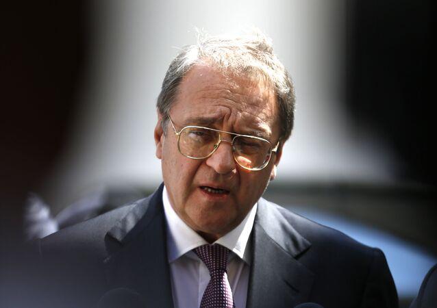 Rusya Dışişleri Bakan Yardımcısı Mihail Bogdanov