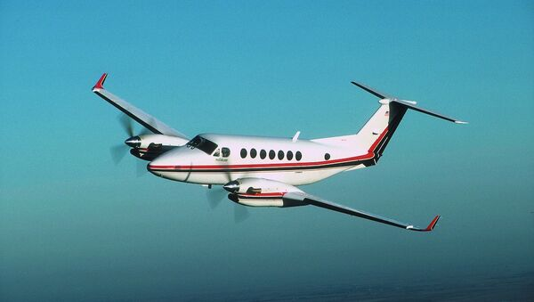 King Air model çift motorlu uçak - Sputnik Türkiye