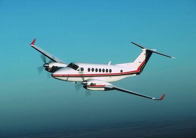 King Air model çift motorlu uçak