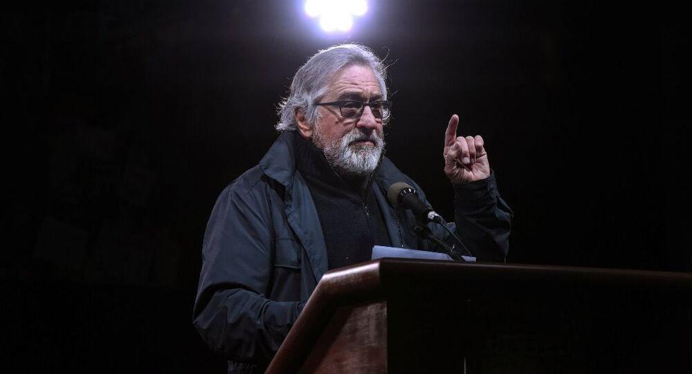 Robert De Niro, Trump protestosunda