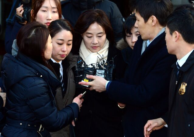Güney Kore Kültür Bakanı Ço Yoon-sun