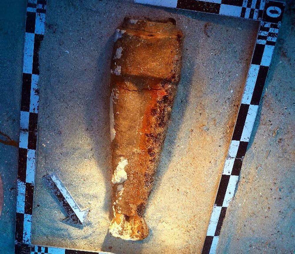 Bozburun'da tanrıça heykeli bulundu