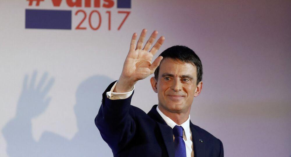 Fransa eski başbakanı Manuel Valls