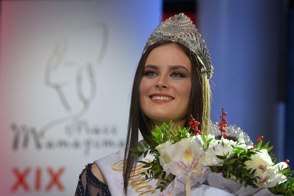 Kazan'da Miss Tataristan 2017 yarışması
