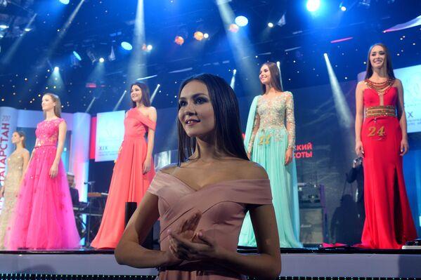 Kazan'da Miss Tataristan 2017 yarışması - Sputnik Türkiye