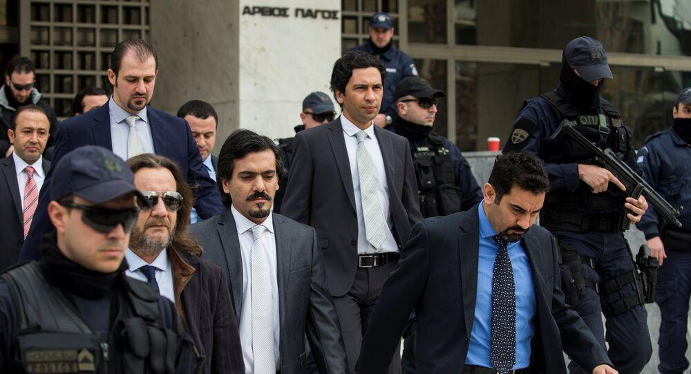 Yunanistan iadesi talep edilen darbeci askerler / Yunanistan Yüksek Mahkemesi
