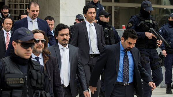 Yunanistan iadesi talep edilen darbeci askerler / Yunanistan Yüksek Mahkemesi - Sputnik Türkiye