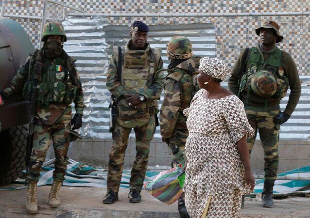 Gambiya'daki ECOWAS askerleri