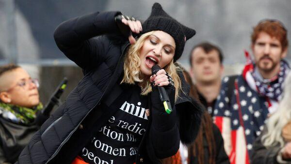 Madonna / Kadınlar Yürüyüşü - Sputnik Türkiye