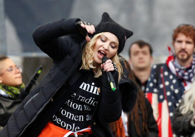 Madonna / Kadınlar Yürüyüşü