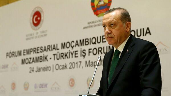 Cumhurbaşkanı Erdoğan, Mozambik'te - Sputnik Türkiye