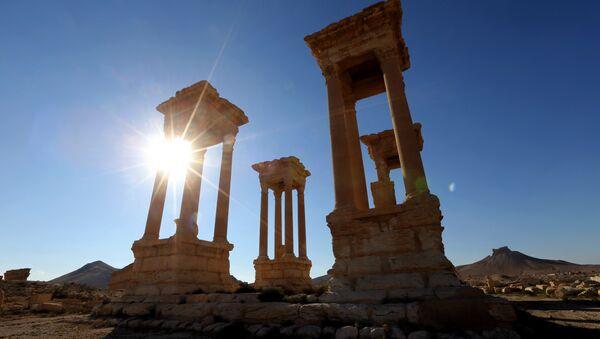 Palmira antik kenti - Sputnik Türkiye