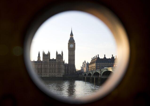 Londra / Big Ben / Thames Nehri / Westminster