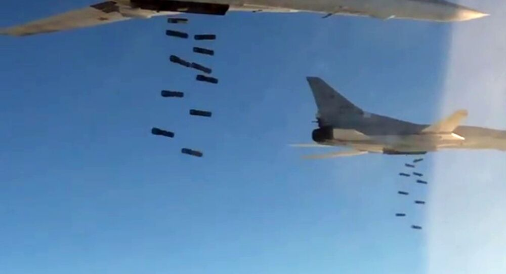 Long-distance supersonic Tu-22 M3 missile-carriers. (File)