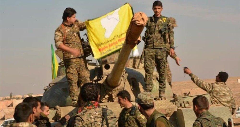 Demokratik Suriye Güçleri savaşçıları, Suriye, Menbiç