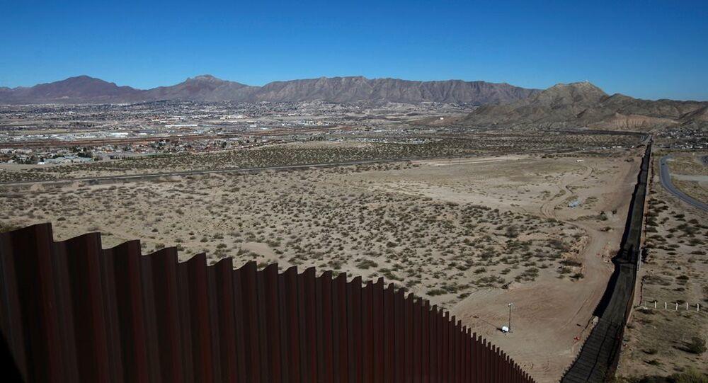 ABD-Meksika sınırı - duvar