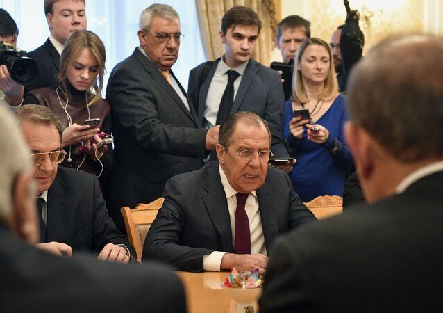 Rusya Dıışişleri Bakanı Sergey Lavrov