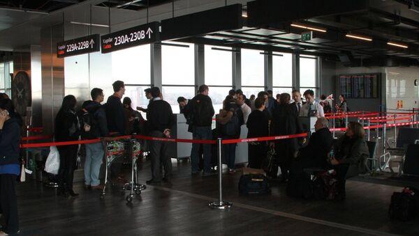 İstanbul Atatürk Havalimanı - Sputnik Türkiye