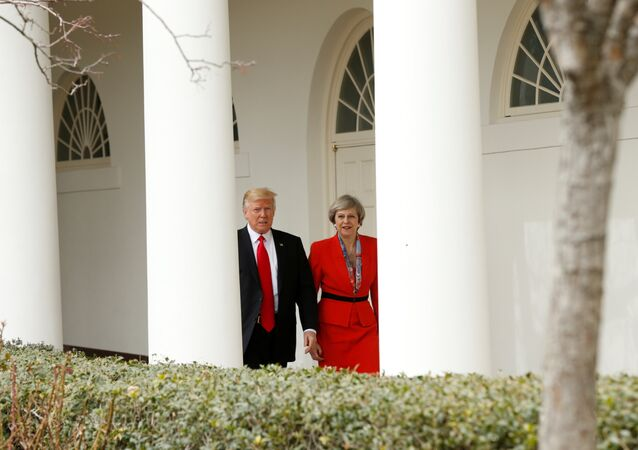 Donald Trump - Theresa May