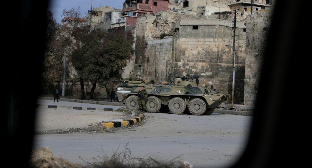 Halep- Suriye- Rusya