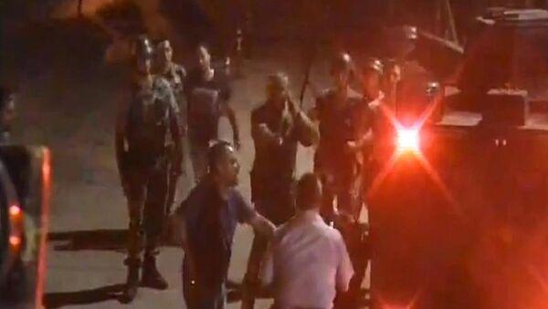 İncirlik'teki darbecilere polis engeli kameralarda - Sputnik Türkiye