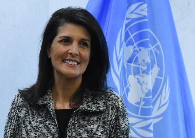 ABD'nin yeni atadığı BM Daimi Temsilcisi Nikki Haley