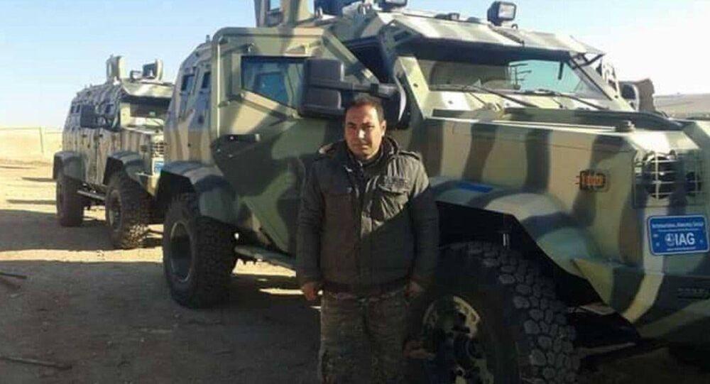 ABD'nin DSG'ye yolladığı zırhlı araçlar