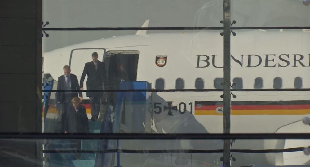 Angela Merkel, Ankara'ya geldi