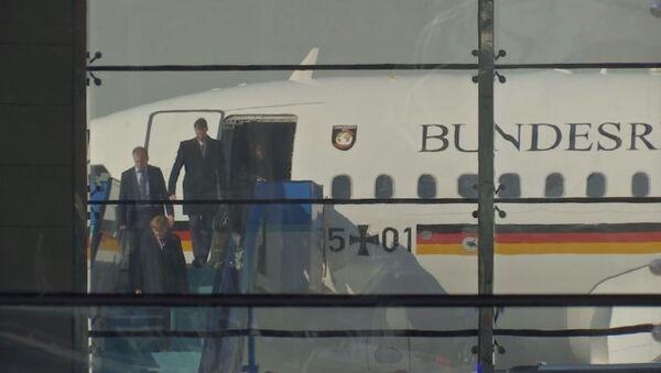 Angela Merkel, Ankara'ya geldi - Sputnik Türkiye