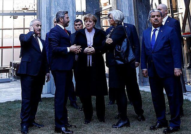Almanya Başbakanı Angela Merkel, TBMM'de